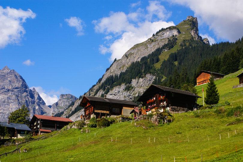 سفر به زیباترین روستاهای سوئیس