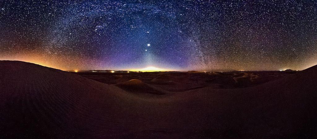 Desert at Night, Yazd
