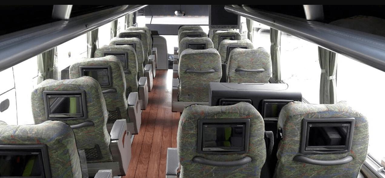 Hamsafar VIP Bus, Iran Bus Providing Companies, Iran Bus Booking