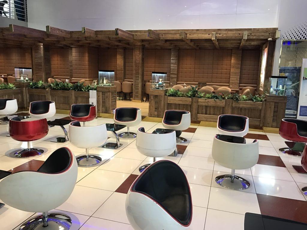 CIP Lounge at IKA