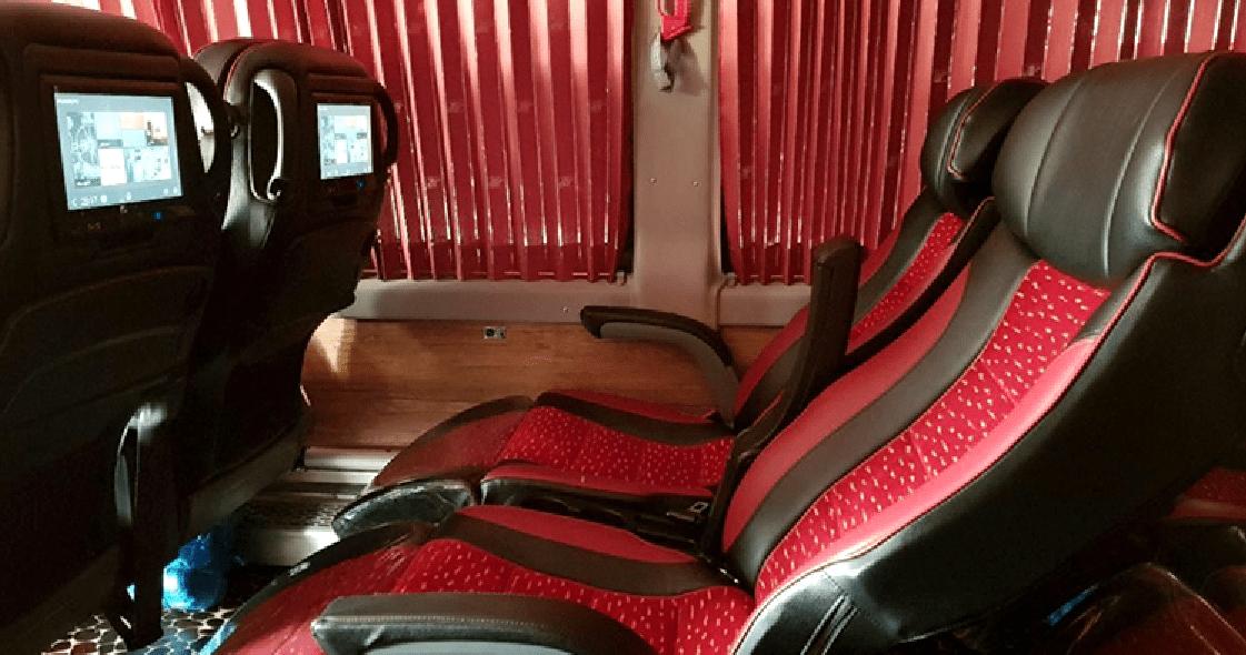 VIP Bus Ticket Iran, Iran Bus Booking, VIP Bus Seat