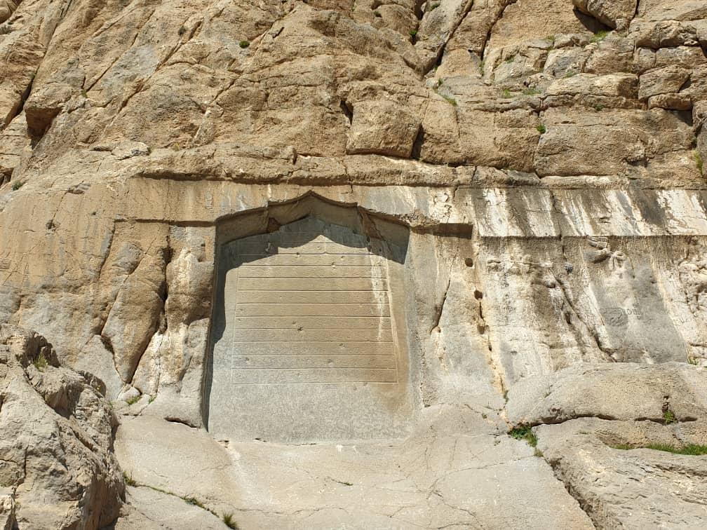 Goudarz and Mehrdad II Reliefs: Bisotoun