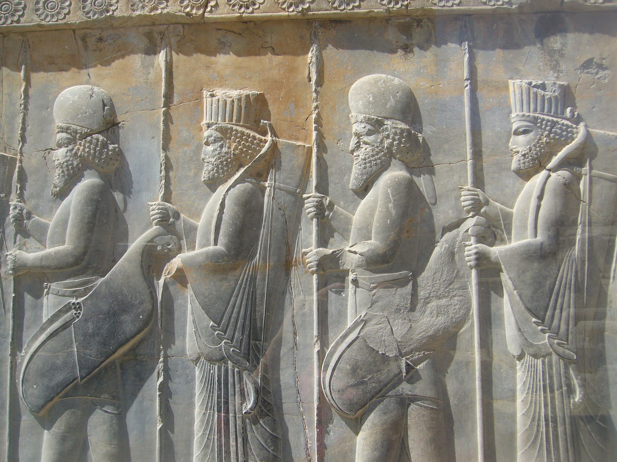 Persepolis: Achaemenid Soldiers